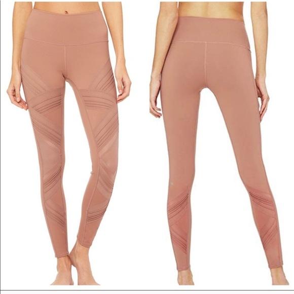 5f2c9309e1 ALO Yoga Pants | Ultimate High Rise Leggings Rosewater Xs | Poshmark